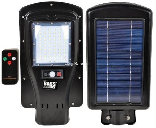 Uliczna Lampa Solarna 60 Led Panel Solar Z Pilotem